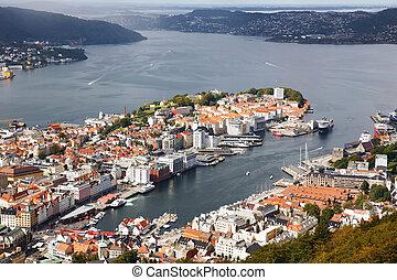 Bergen city