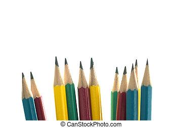 Top view of businessman blank notebook business document black pen