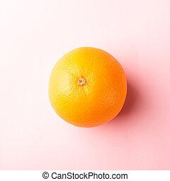 Fresh full orange fruit