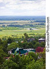 Top view of old Vladimir