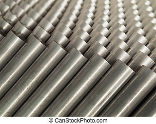 Top view of Steel Pipe
