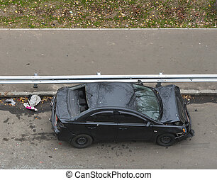 car seriously injured in an accident