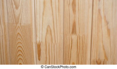 Top view on light wooden floor. Slide of light laminate.