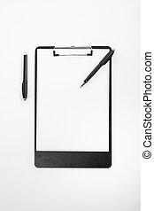 blank letterhead for corporate identity template