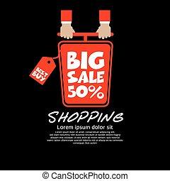 Top View Shopping Cart Big Sale.