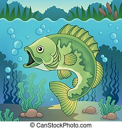 topic, 1, fish, słodkowodny, wizerunek