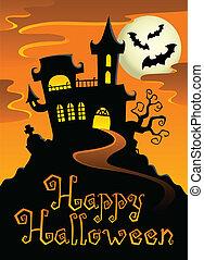 topic, 1, image, halloween, heureux