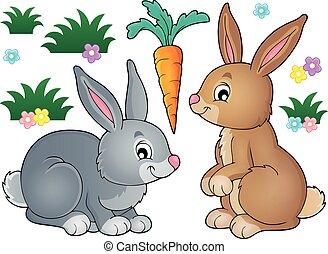 topic, 1, imagem, coelho