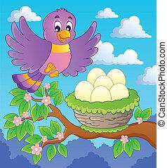 topic, 1, imagem, pássaro