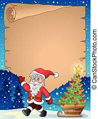 topic, 1, kerstmis, perkament