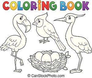 topic, 1, tinja livro, pássaro