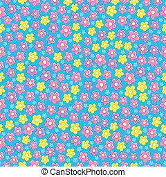 topic, 3, kwiat, seamless, tło