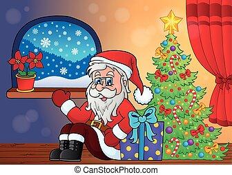 topic, 3, szobai, karácsony