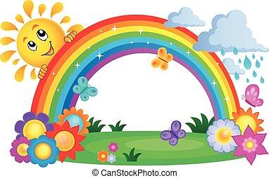 topic, arco irirs, imagen, 4