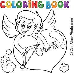 topic, coloritura, 2, libro, cupido