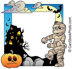 topic, cornice, halloween, 3