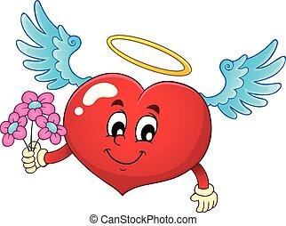 topic, cuore, immagine, 7, valentina