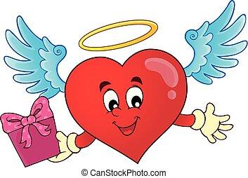 topic, cuore, immagine, valentina, 8