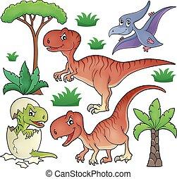 topic, dinosaure
