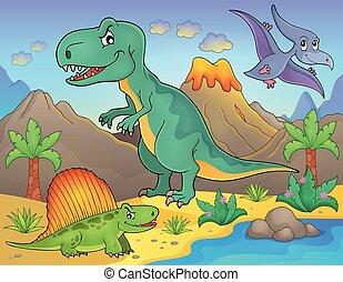 topic, Dinosaurio