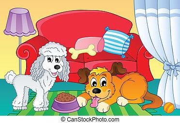 topic, imagem, 2, cão