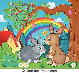 topic, imagen, 2, conejo