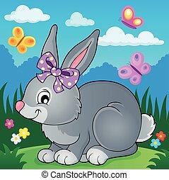 topic, imagen, 4, conejo