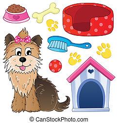 topic, imagen, 5, perro