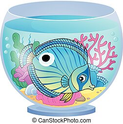 topic, imagen, acuario, 4