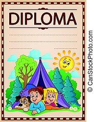 topic, imagen, diploma, 4