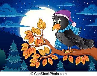 topic, imagen, pájaro, 4