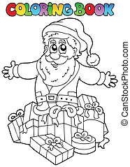 topic, libro colorear, 7, navidad
