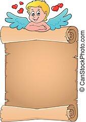 topic, pergamena, cupido, 4