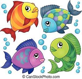 topic, pez, 2, imagen