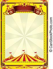 topo grande, circo, voador