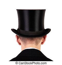 topo, homens, chapéu
