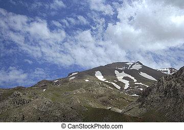 topo montanha, vista