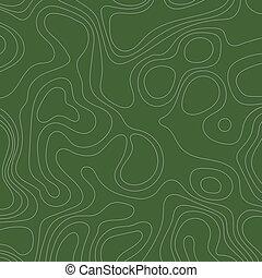 topografisk, abstrakt, bakgrund, fodrar, karta