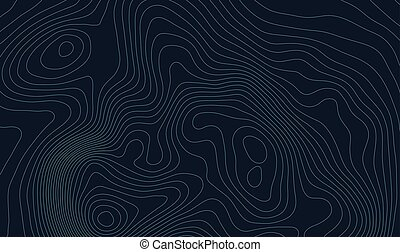 Topographic map background concept with space for your copy...