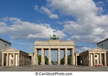 tor, brandenburg, deutschland, berlin