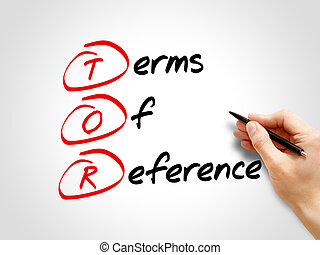 TOR - Terms of Reference