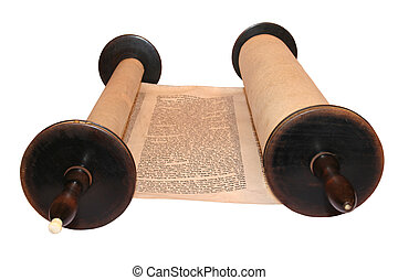 Torah, the first and main body of the Tanach, the Hebrew...