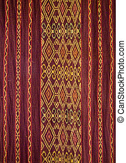 Traditional textile of Tana Toraja, Sulawesi, Indonesia