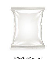 torba, biały, plastyk