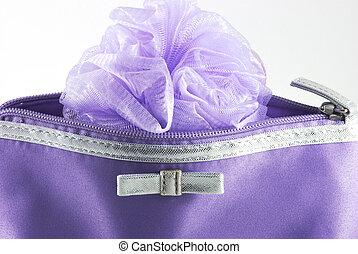 torba, szczegół, kosmetyczny