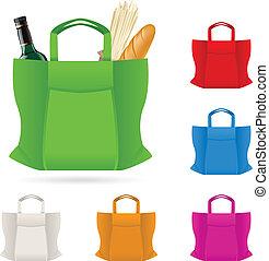 torba, zakupy