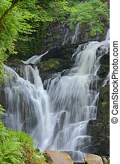 Torc Waterfall - Torc waterfall, Killarney, Co Kerry,...