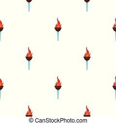 Torch pattern seamless