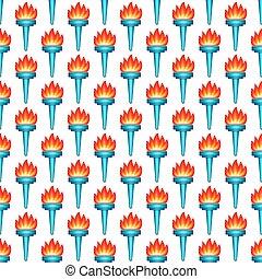 Torch pattern