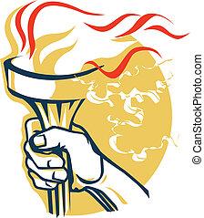 torche, victoire